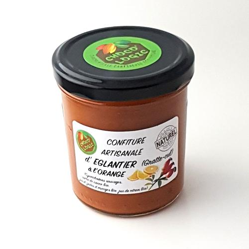 Confiture artisanale d'églantier à l'orange